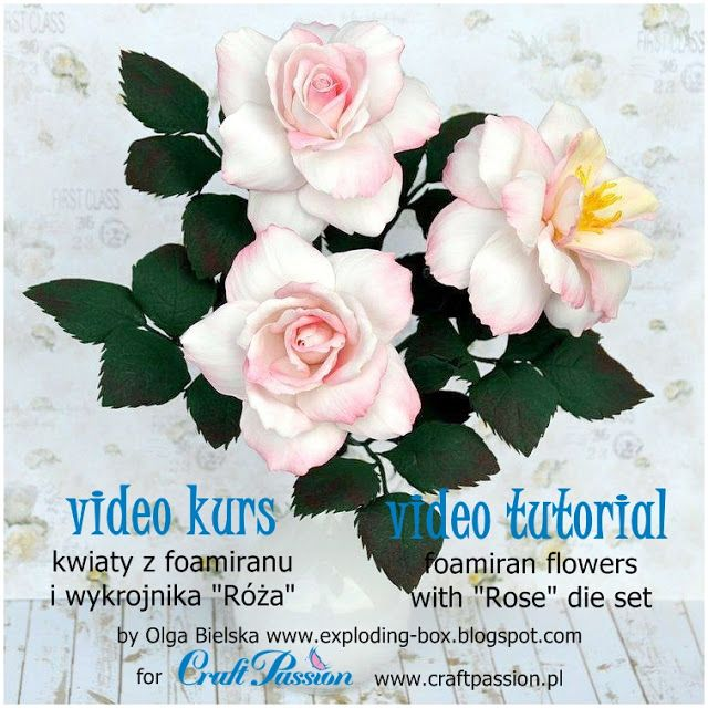 Blog Craft Passion: Pokaz tworzenia kwiatów / Flower creation show - Art in Town vol.3