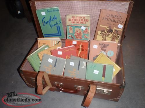 Sell Old Textbooks   OLD SCHOOL BOOKS - Buy & Sell in grand falls -windsor, Newfoundland ...