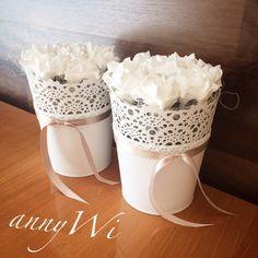Deko Rose Shabby Landhausstil annyWi Deco, Rosen, Ikea , skurar, weiss Shabby Vintage Landhausstil deko annyWi  Tischdeko Wedding Hochzeit