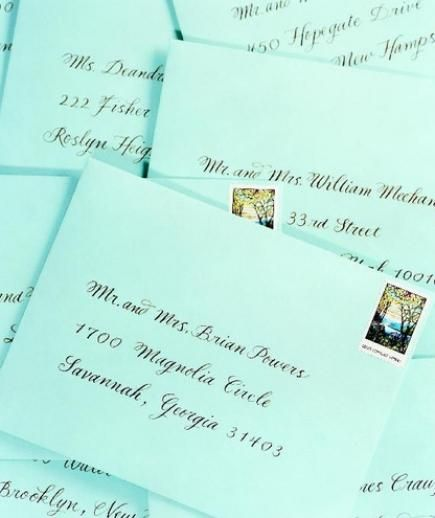 Wedding invitation envelopes | Procedures for getting the words on paper vary widely. Here, four basic methods.