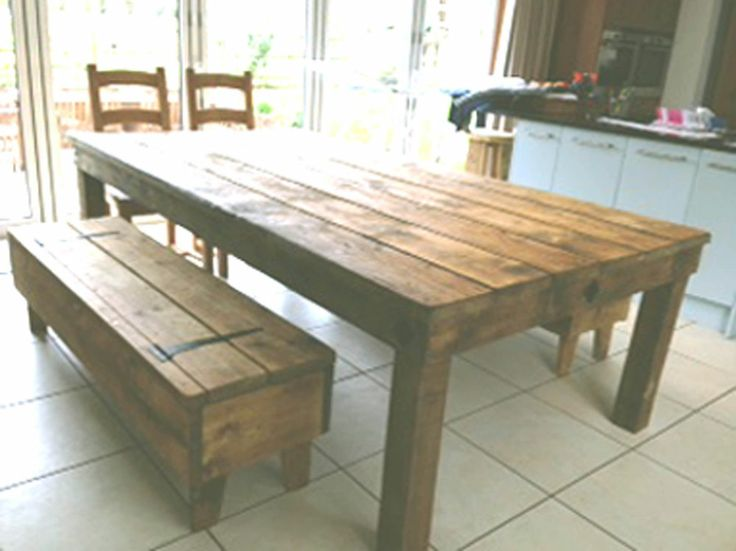 Handmade rustic indoor outdoor dining tables amp benches : 96d2ec990dbda2a50c15d7b99457871a from pinterest.com size 736 x 551 jpeg 44kB