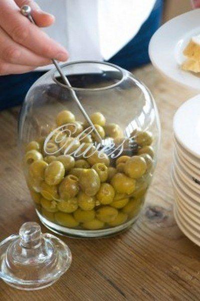 Słój na oliwki Glass Olives śr. 12.5x18 cm