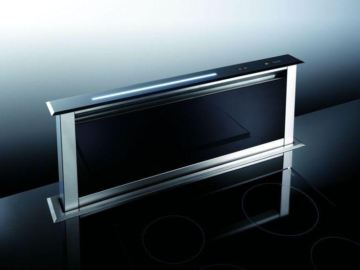 Lift Glas Schwarz Unter Tischhaube, 60 Oder 90 Cm, Mit Motor Oder Für
