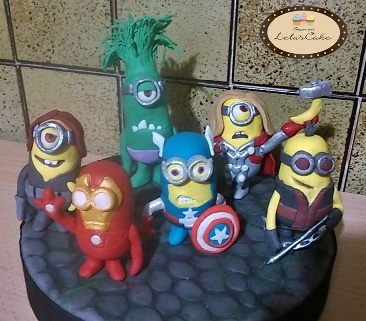 OK..........this just cracks me up! Minions Avengers