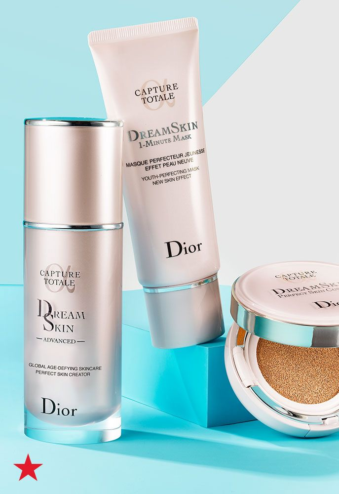 Renew and refresh your beauty look with the complexion you've always dreamed about. Dior Dreamskin Perfect Skin Collection includes everything you need to target wrinkles, pores, redness and dark spots. Click to shop the Dreamskin essentials at Macy's.