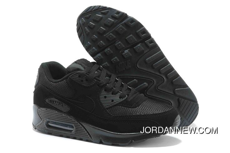 http://www.jordannew.com/2014-new-nike-air-max-90-mens-shoes-black-all-top-deals.html 2014 NEW NIKE AIR MAX 90 MENS SHOES BLACK ALL TOP DEALS Only $73.03 , Free Shipping!