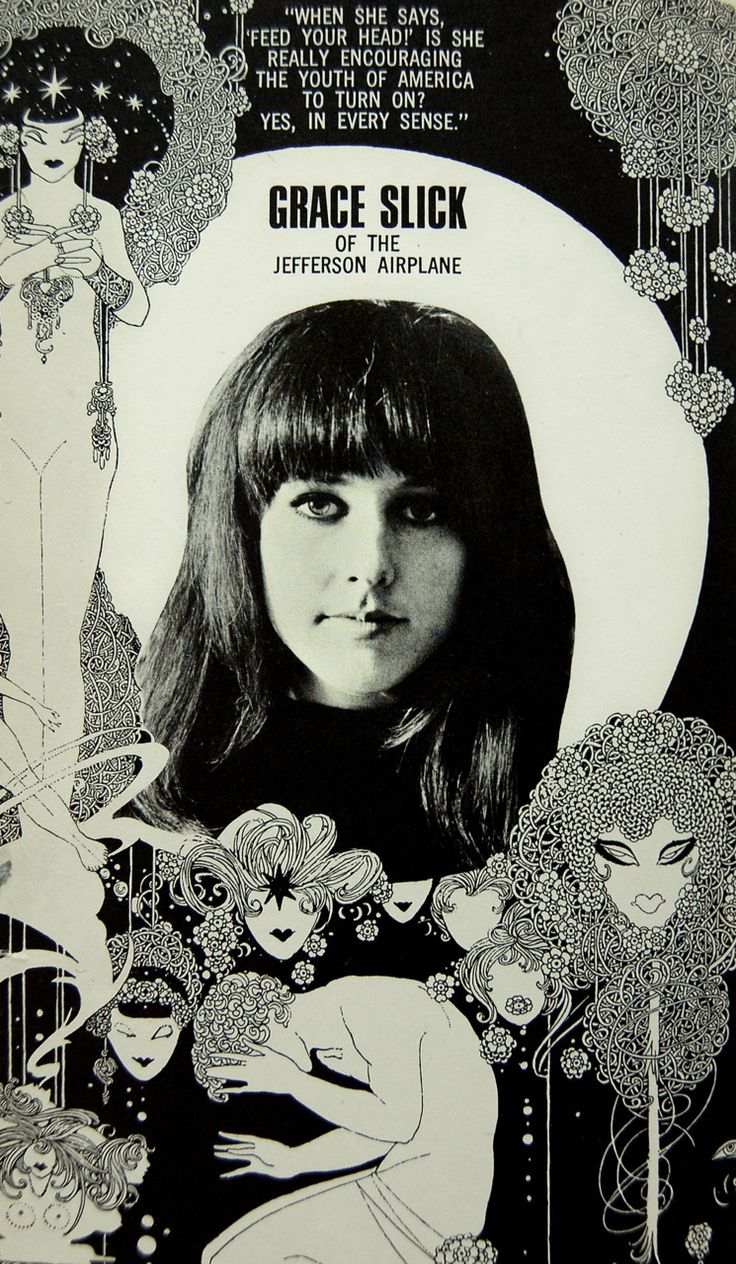 Grace Slick, Jefferson Airplane - My birthday's the same day as hers.