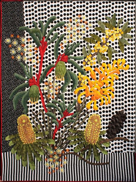 """Dotty-Roo"" by Denise Griffiths, one of the NSW Quilt Guild's winners 2013"