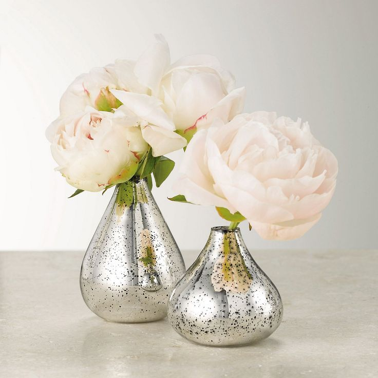 Mercury Vase - Set of 2 | The White Company
