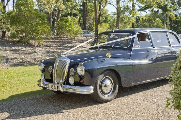 Classic Wedding Car hire Brisbane with Premier Limousines #Classiccarhirebrisbane www.premier-limos.com.au