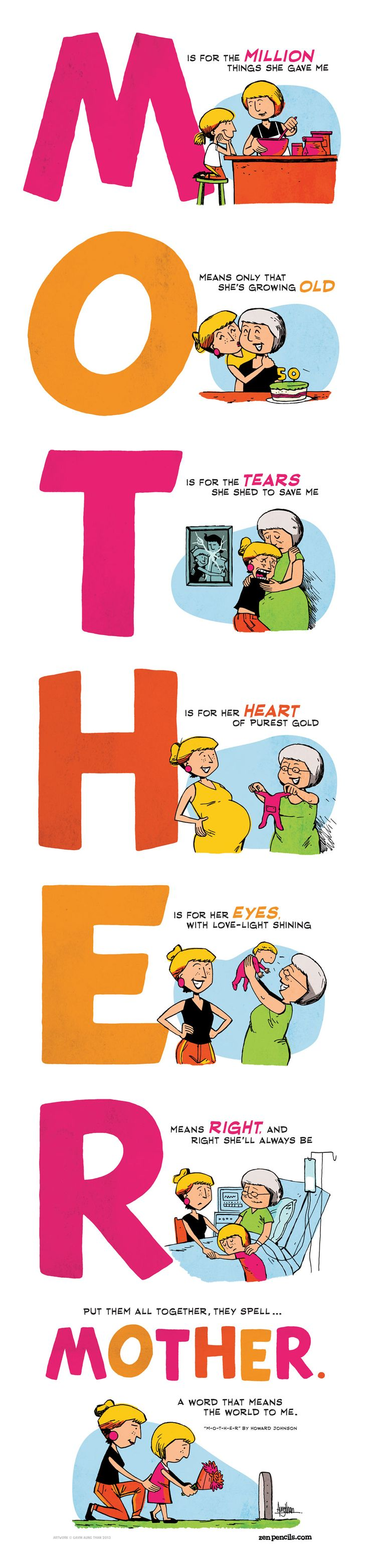 ZEN PENCILS Cartoon quotes from inspirational folkst so much funny but something that represents something good
