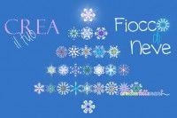fiocchi di neve con la carta   ♥