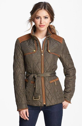 Vince Camuto Quilted Field Jacket available at #Nordstrom .. RIGHT NOW #anniversarysale $100