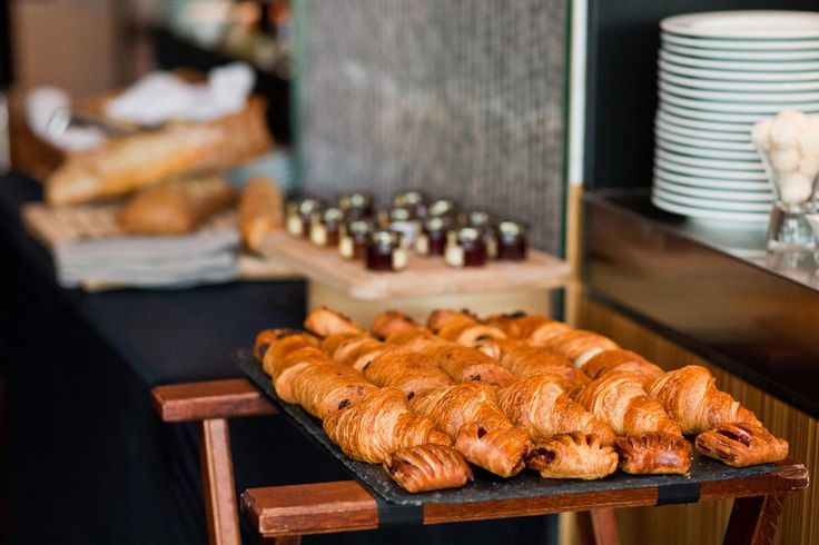 Beautiful bakery products at our Sunday Brunch