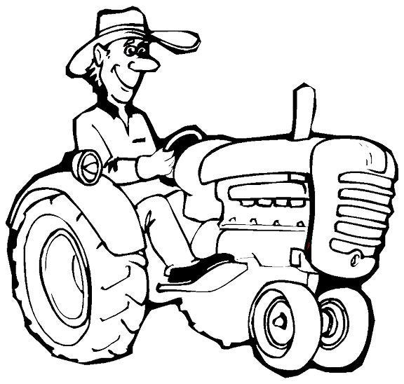 coloring pages farmers - photo#13