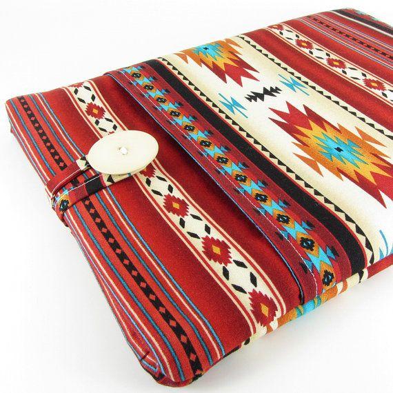 Laptop Case, 13 Inch Laptop Sleeve, Laptop Cover, Laptop 13 Case, Computer Case - Aztec, Tribal, Navajo, Southwestern