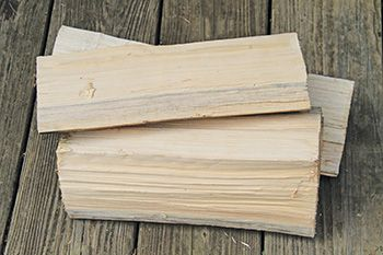 Split wood dries faster, no wider than six inches is what the EPA recommends.