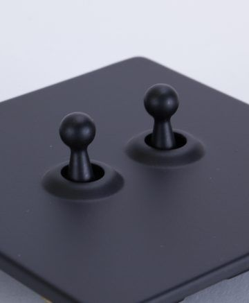BLACK double toggle switch in 2019 | House | Toggle light