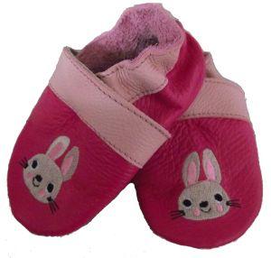 Nyuszis pink Szofi puhatalpú cipő