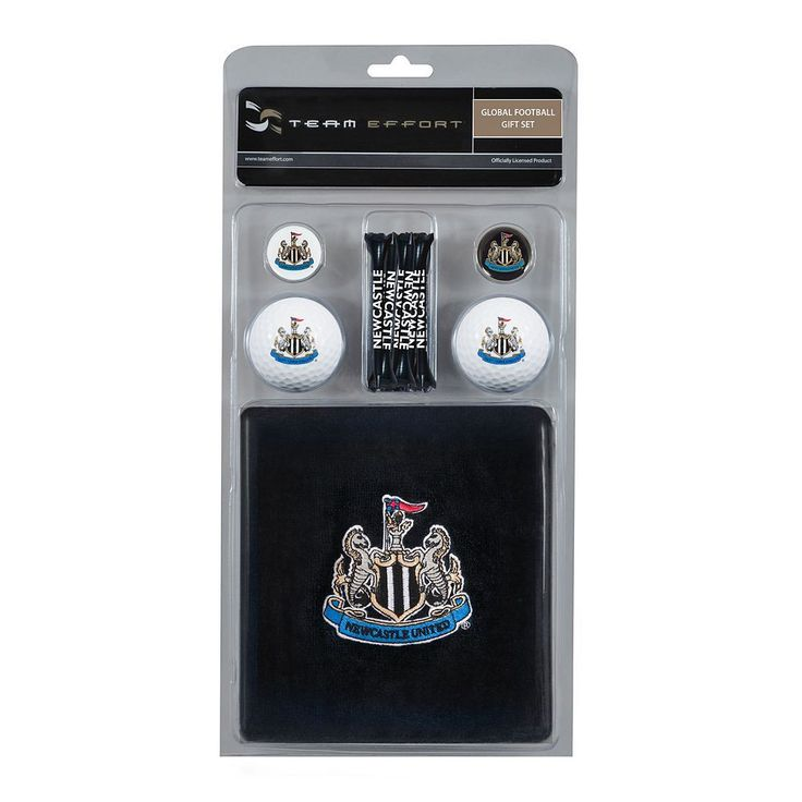 Team Effort Newcastle United FC Golf Gift Set, Multicolor