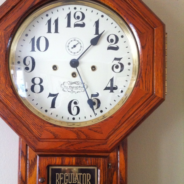 New England Clock Company Thrifting Finds Pinterest