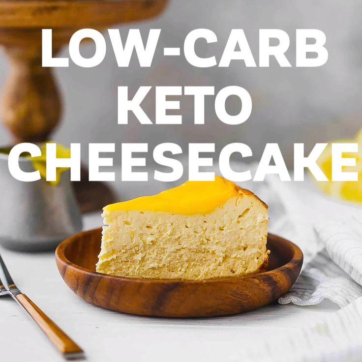 Lemon Keto Cheesecake