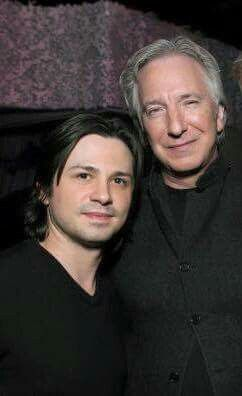 RIP #AlanRickman. One of the greats. Thank you for being a gentleman and pushing me to be a better actor. Stay strong Rima. #BottleShock #CBGB - Freddy Rodriguez