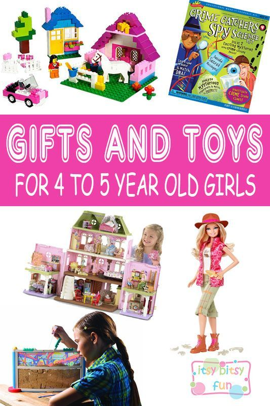 Best Gifts For 4 Year Old Girls. Lots of Ideas for 4th Birthday, Christmas and 4 to 5 Year Olds: