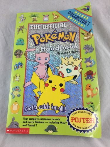 Pokemon: The Official Pokemon Handbook by Maria S. Barbo (1999)
