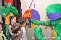 Детский день рождения в стиле Спасатели черепашек нинзя Киев - фото 28