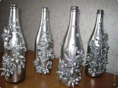 бутылка дама декорирование к новому году: 25 тыс изображений найдено в Яндекс.Картинках