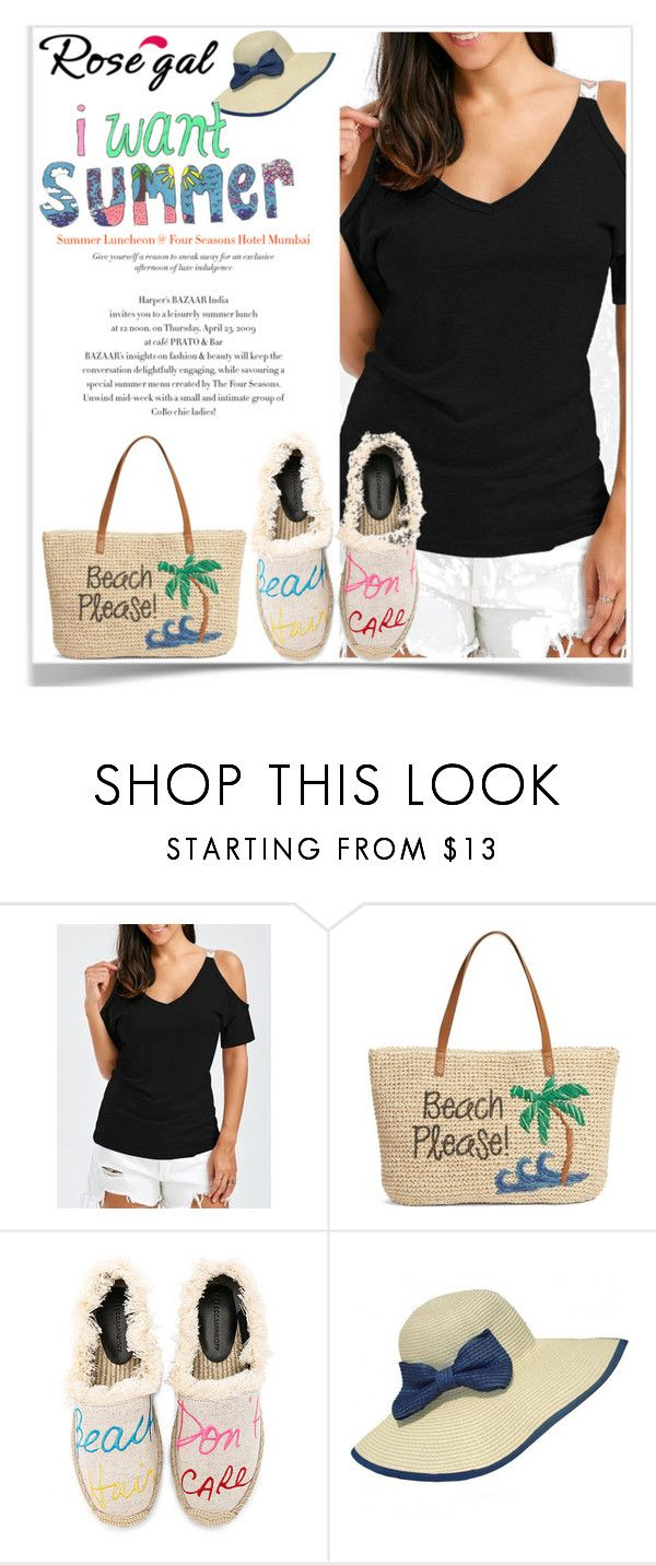 """""""ROSEGAL CONTEST"""" by smile-370 ❤ liked on Polyvore featuring Nordstrom, Rebecca Minkoff, WithChic and Kara"""