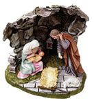 """11 inch Nativity Statue, $169.95 USD  This 11"""" Statue has the virgin Mary, St. Joseph, and Jesus all in one statue. This is a fantastic gift for Christmas or any time of the year"""
