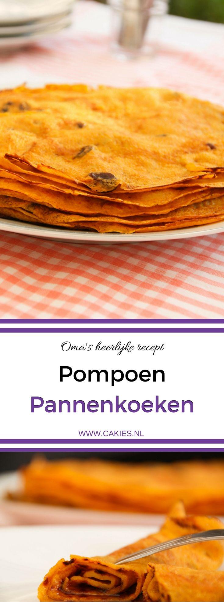Ik ben dol op Pompoen Pannenkoeken! Mijn oma maakt de lekkerste. Dit is haar speciale recept. Een heerlijk recept dat super makkelijk is om te maken.
