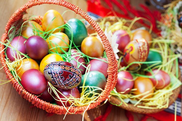 Раскраска пасхальных яиц! (личный опыт по каждому способу) » Женский Мир