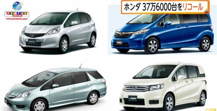 Recall de quase meio milhão de modelos de veículos como Fit, da Honda, e Legacy, da Subaru, por problemas no airbag e estruturais. Veja mais.