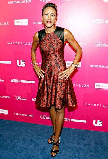 Robin Roberts - her strength, her faith, her ability to rise above the fear of cancer and face it head on