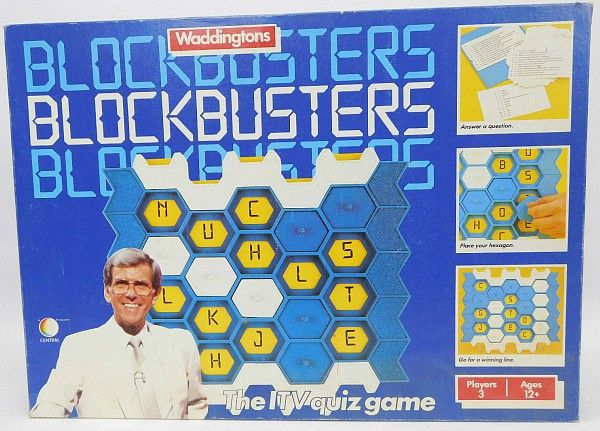 Blockbusters board game by Waddingtons (1986)