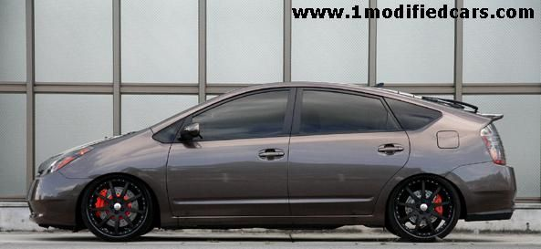 Modified Toyota Prius With 20 Forged 2 Piece Rims Prius Custom