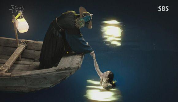Legend of the Blue Sea: Episode 1 » Dramabeans Korean drama recaps