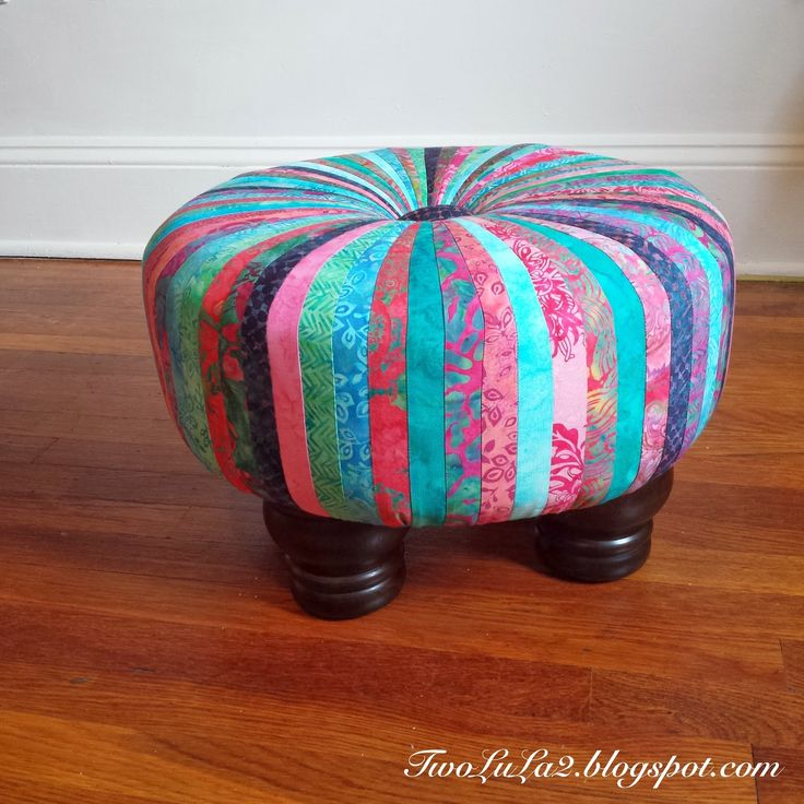 "Little Miss Muffet sat on her tuffet...               Here is my very first hand made tuffet! I say ""very first"" not because I have oth..."