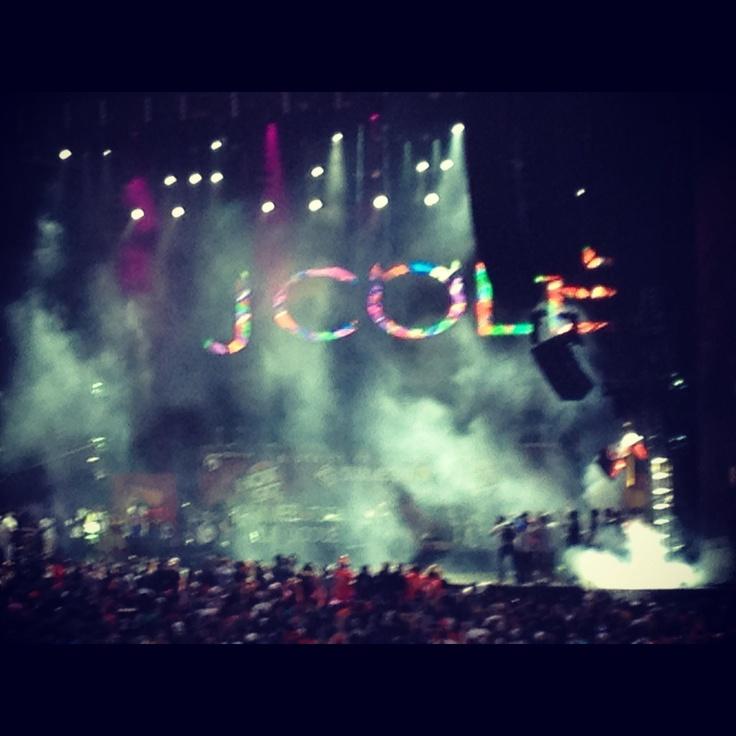 J COLE concert!