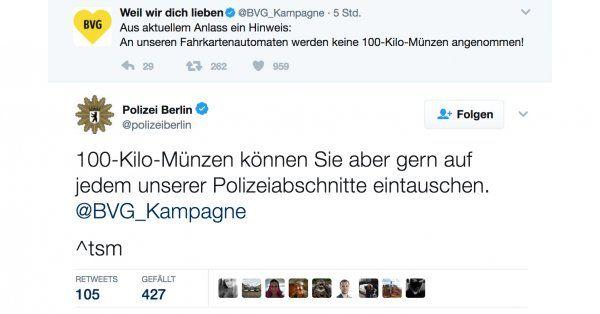 Die Berliner Polizei ist äußerst zuvorkommend! | Webfail - Fail Bilder und Fail Videos