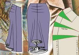Image result for draped skirt