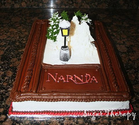 There's nothing better than reading The Chronicles of Narnia, but eating them comes close with this cake.