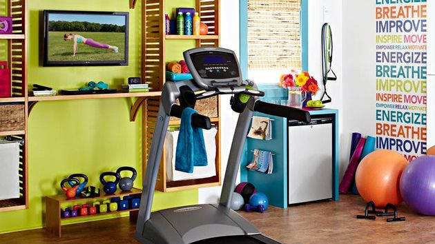 Not all homes have their own home gym but health conscious individuals have them. Some would allocate a certain room for it but others just combine it with