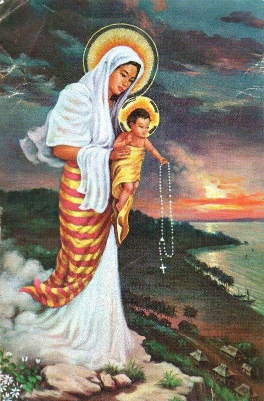 Notre Dame des Philippines - Aux Philippines, les « Rosary blocks »