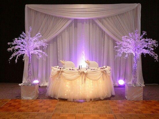 Sweet Sixteen Decor Wedding Table Sweetheart Table Backdrop Head Table Decor