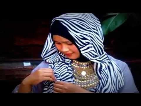 Tutorial Hijab Segi Panjang Pasmina Praktis Ala Salsabila Azahra  #Tutor...