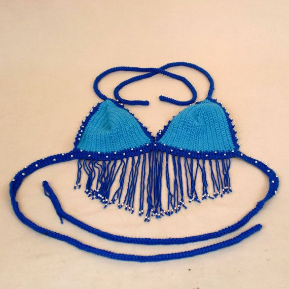 Festival Clothing Crop Top Summer Wear Hippie by AllThingsTangled